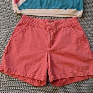 Vtg Lee Shorts Salmon Size 8